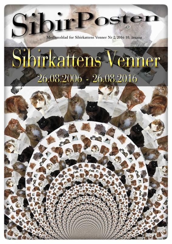 Sibirposten Jubileumsutgave no. 2/2016 10.årgang